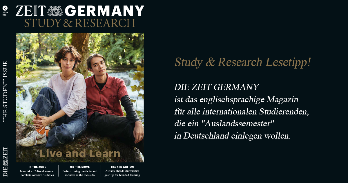 Lesetipp: ZEIT GERMANY Study & Research