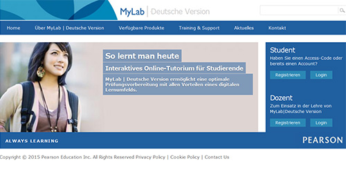 MyLab | Deutsche Version